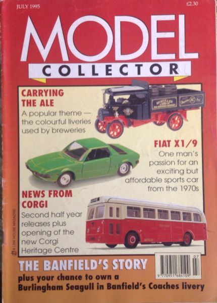 ORIGINAL MODEL COLLECTOR MAGAZINE July 1995